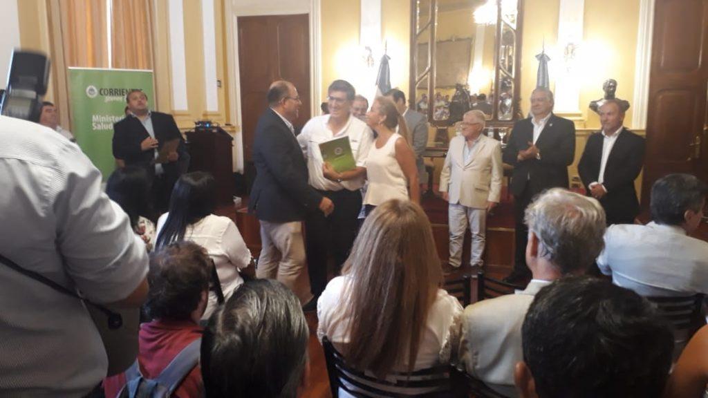 Acompaño al Director del Hospital Ramirez, la Diputada Eugenia Mancini
